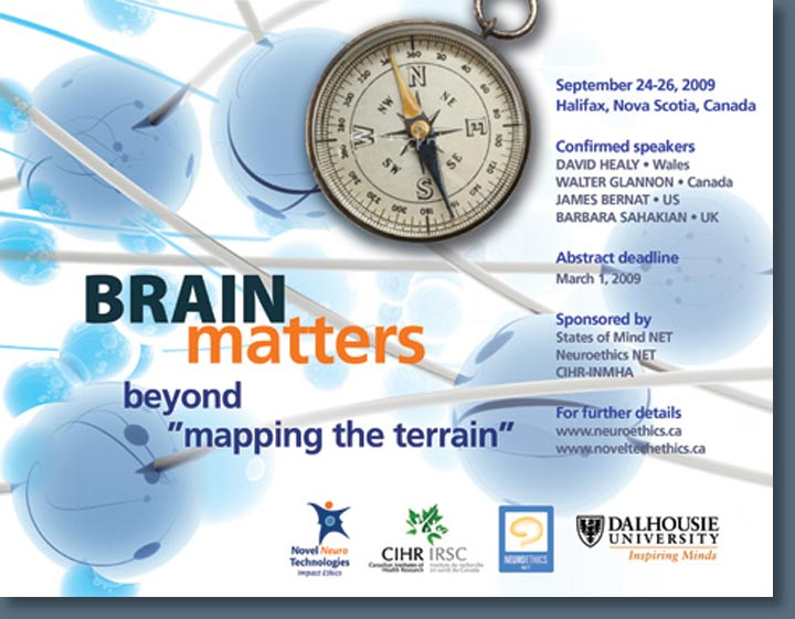 Poster design for Brain Matters Conference